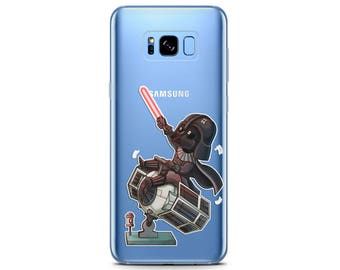 Star Wars phone case Samsung s8 plus case Google Pixel xl baby Darth Vader funny phone case s7 Star Wars phone case LG G6 cute s8 phone case