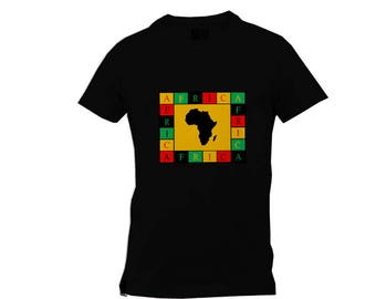 Africa - CONTINENT Short Sleeve Tee