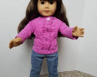 18 inch doll Skinny jeans, fits American girl doll and a variety of 18 inch dolls