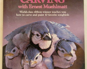 Songbird Carving, How to Carve & Paint 10 Favorite Songbirds, HC Book, ISBN 0-8117-1817-4