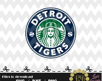Detroit Tigers Coffee svg,png,dxf,shirt,jersey,baseball,college,university,decal,proud mom,disney,softball,college,starbucks,ncaa,svg