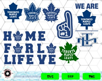 Toronto Maple Leafs svg,png,dxf/Toronto Maple Leafs clipart for Print/Design/Cricut/Silhouette...etc