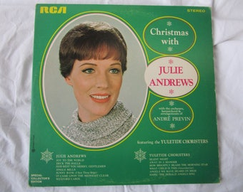 Julie Andrews / Andre Previn / Christmas With / Vinyl LP / RCA / PRS 290