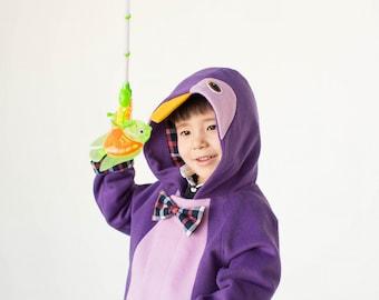 Penguin coat -  boy coat -  girl coat - toddler clothing