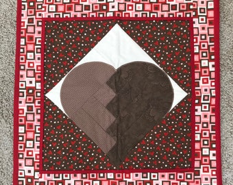 Quilted Heart Wall Hanging