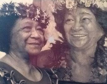 FAMILY PORTRAITS in Charcoals, Pastels, or Acrylic on canvas.