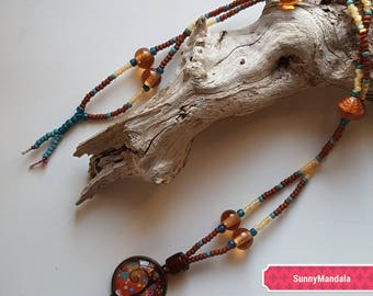 """Bohemian necklace """"tree of life"""""""