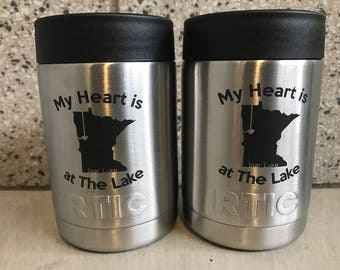 Custom Engraved RTIC Can
