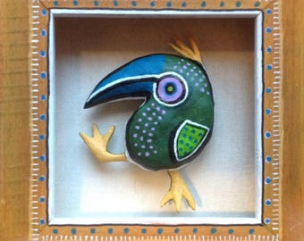 Happy Bird in a Box