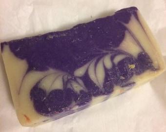 Lavendar Swirl Soap