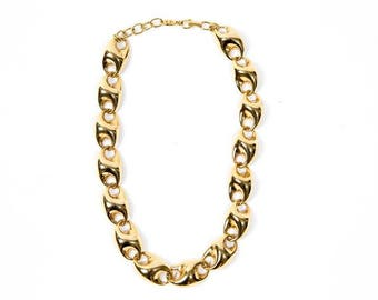 Christian Dior Gold Tone Necklace