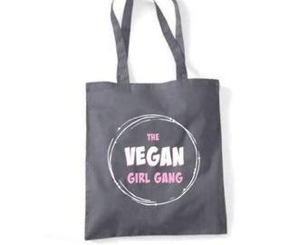 The Vegan Girl Gang Tote Bag