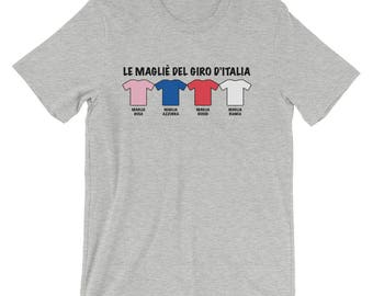 Cycling, Giro D'Italia Themed Short-Sleeve Unisex T-Shirt