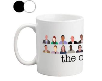 The Office Crew Mugs, Mugs with Sayings, The Office Mug, The Office Mug, Office Crew Mug, Boss Mugs, Cute Mugs, Officers Mugs, TV Show