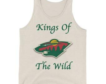 Minnesota Wild Hockey Kings Of The Wild Mens Tank Top