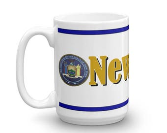 New York Mug, New York Keepsake, New York Memorial, New York Pride, Coffee Mug