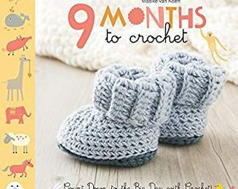 9 Months to Crochet Pattern Book