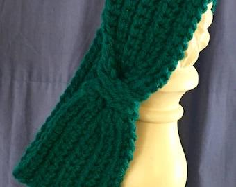 "Crochet ""Chained"" Headband/Earwarmer"