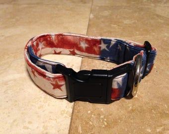 American Flag Dog Collar - Adjustable