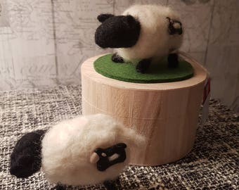 Bespoke needle felted creation. 'Sheep'