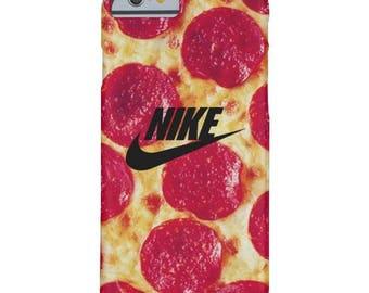 pizza Nike iphone case, nike iphone 5 5s 5c case, iphone 6 6s 6 plus case iphone 7 7 plus case iphone X iphone 8 8 plus case samsung s6 case
