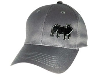 Youth hat with Show Steer or Show Pig