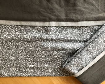 Gray flannel pillow cases