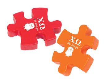 Chi Omega Stress Reliever Puzzle