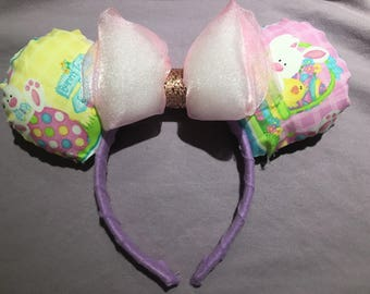Easter Bunny & Chick Minnie Ears
