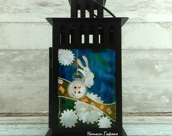 "Candlestick ""Alice in Wonderland"""
