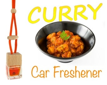 Curry Scented Handmade Car Freshener