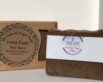 Free Spirit Handmade Vegan Soap with Essential Oils