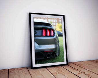 Ford Mustang GT350, Instant Download 18x24