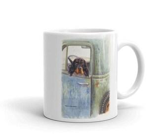 Gordon in a 55 Gordon Setter 11oz Coffee Mug
