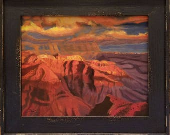 Grand Canyon Sunset - oil landscape