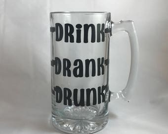 Drink Drank Drunk Beer Mug