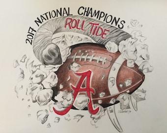 Alabama National Champions 2017
