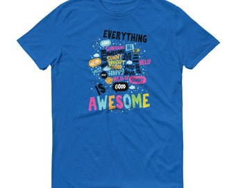 Everything positive tshirt for optimists