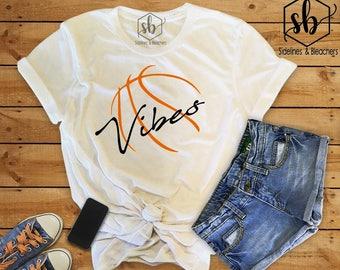 Basketball Vibes | Basketball | Hoop Life | Basketball Babes | Ballers | Baller Babes |  Moms shirts | Sidelines & Bleachers |