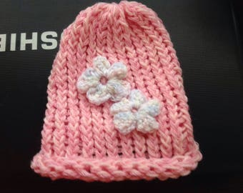 Cute baby's bonnet