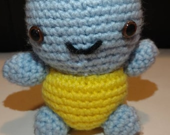 Pokemon Squirtel Amigurumi