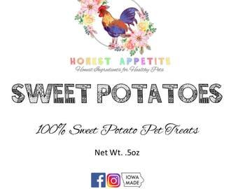 Sweet Potato Pet Treats