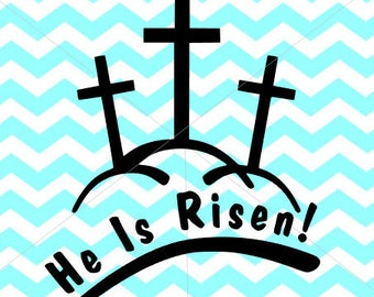 He is risen, SVG,PNG