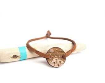 Mountain ice bracelet