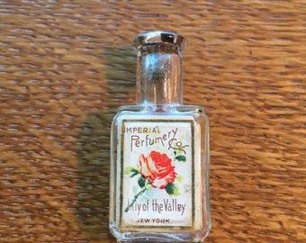 Antique mini Perfume Bottle NY