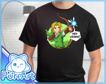 Fairy Bow - Zelda T-Shirt Zelda Shirt The Legend of Zelda Ocarina of Time Shirt Link Tee
