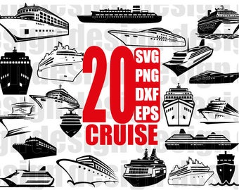 CRUISE SVG, cruise ship svg, boat svg, ship svg, travel svg, vacation svg, cruise svg files, silhouette, stencil decal, cut files, cricut