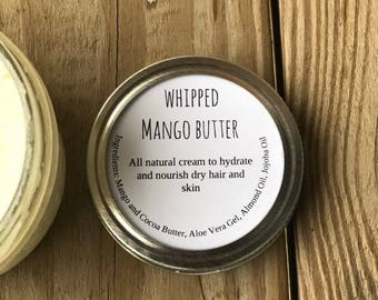 Whipped Mango Butter (4 ounces)