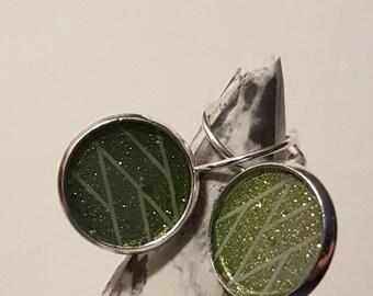 Handmade Leverback Earrings