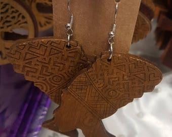 Beautiful Wooden Earrings